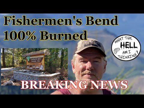 Fishermen's Bend State Park Burnt To The Ground - Mill City, OR 97360 2020 Fire Ripped Threw!