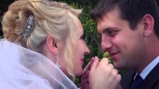 Свадьба Невеста и Жених Счастье Первый поцелуй Нежность
