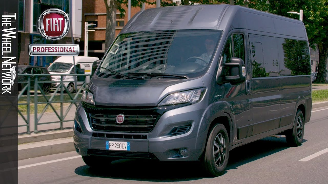 2020 Fiat Ducato People Mover Youtube