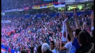 Srbija - Hrvatska 26:22 Rukomet EP 2012 - Serbia vs. Croatia Handball Euro 2012