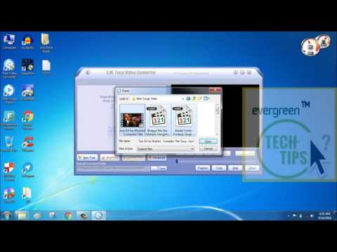 How to install video converter and convert video into mp3 file