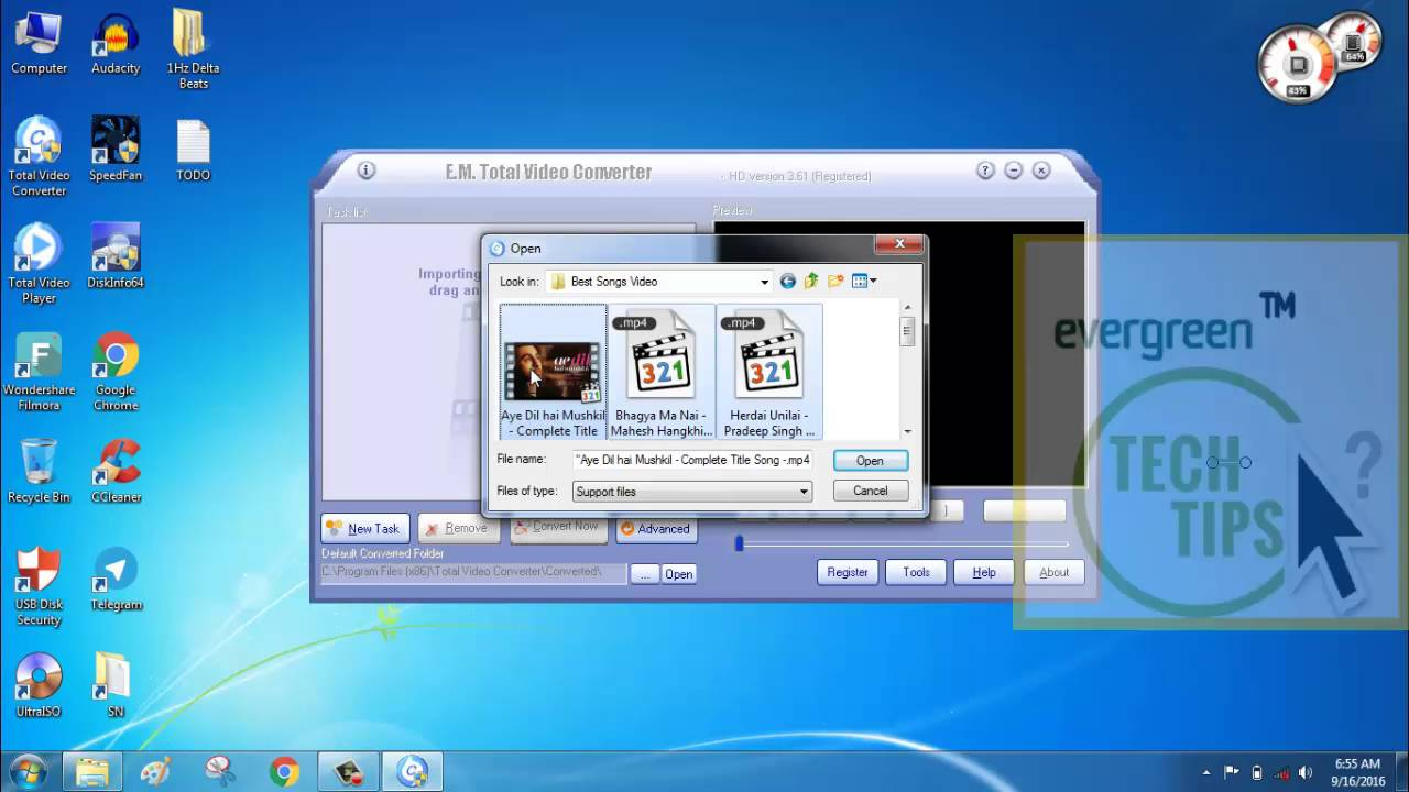 software convert video to mp3