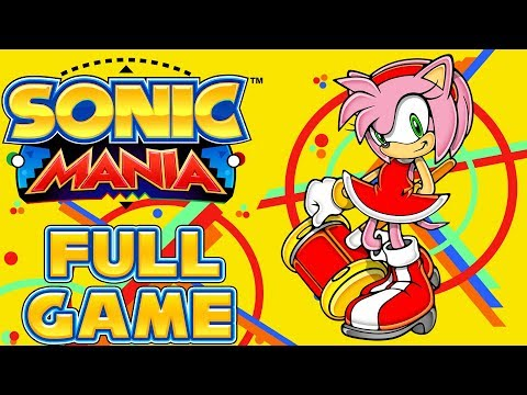 Sonic Mania - Full Game as Amy *Advance Amy Mod Release*