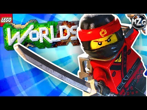 LEGO Ninjago DLC!! - LEGO Worlds Gameplay - Episode 20