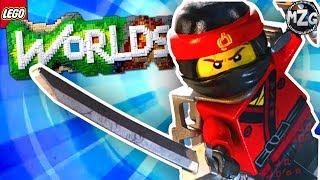 LEGO Ninjago DLC!! - LEGO Worlds Gameplay - Episode 20