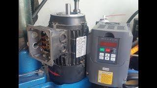 Настройка китайского инвертера (преобразователя частот) для асинхронного двигателя