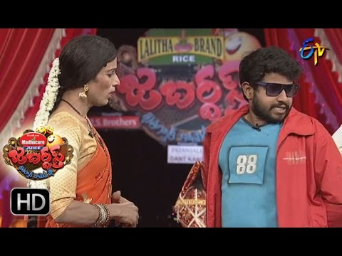 Hyper Aadi Raising Raju Performance | Jabardsth | 31st March 2017| ETV Telugu
