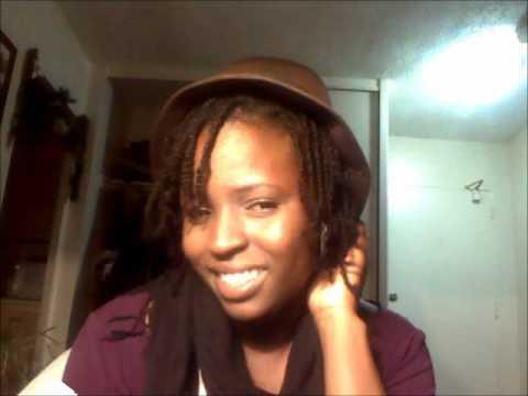 Natural Hair Box Braids Tutorial Using My Own Hair No
