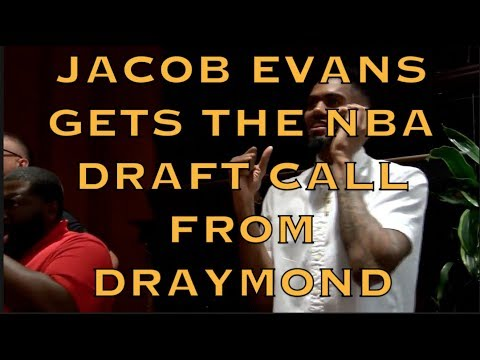 Jacob Evans gets a call from Draymond on NBA Draft night, Baton Rouge + Oakland perspectives!