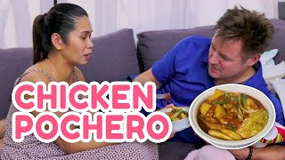 HOW TO COOK CHICKEN POCHERO (Comfort food for sick Papang!) | PokLee Cooking