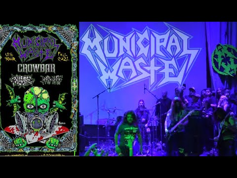 Municipal Waste fall headlining tour w/ Crowbar, Skeletal Remains and Dead Heat