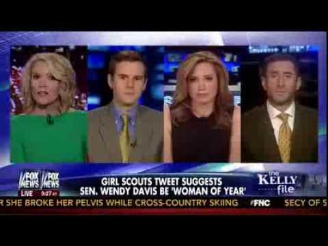 Megyn Kelly Reports on Girl Scouts Controversy