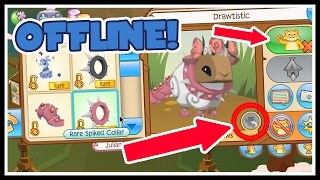 How To Trade With People Who Are Offline | Animal Jam