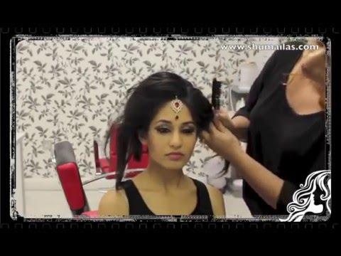 Indian Pakistani Asian Bridal Hair Style Tutorial