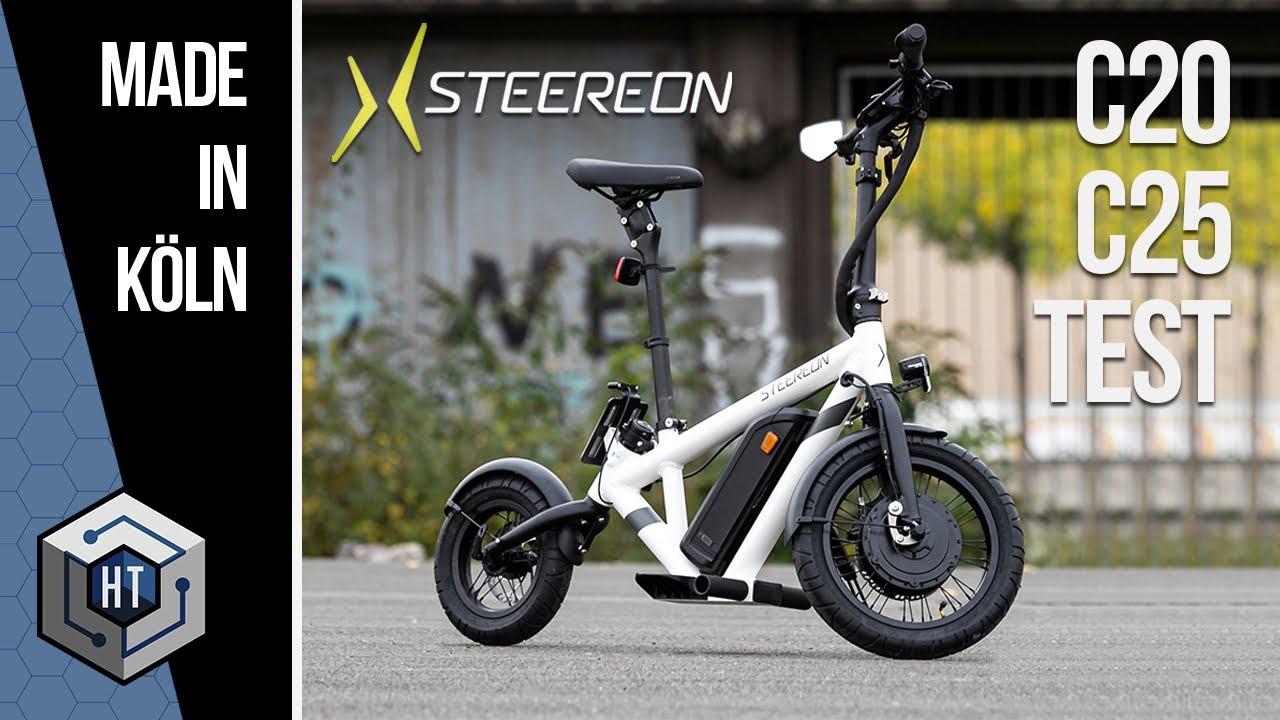 STEEREON C20 & C25 im TEST | E-Scooter + E-Bike - Hybrid mit Sitz (REVIEW)
