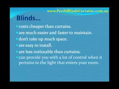 10 Advantages of Blinds over Curtains.wmv