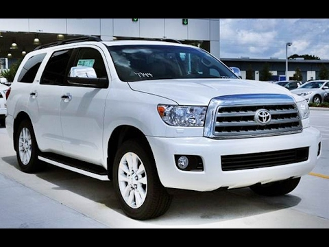 2017 toyota sequoia platinum youtube. Black Bedroom Furniture Sets. Home Design Ideas