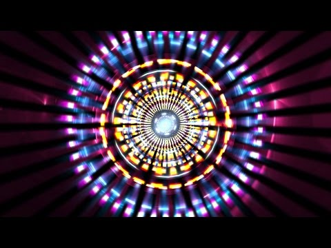 Music  ♫ 80s Disco Retro Tunnel Zoom ♫ VJ Effect AA VFX
