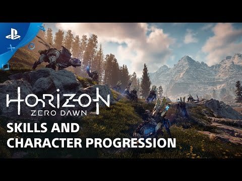 Horizon Zero Dawn: Skills and Abilities - Countdown to Launch at PS Store | PS4