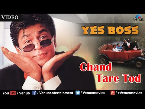 Chand Tare Tod Full Video Song | Yes Boss | Shahrukh Khan, Juhi Chawla | Abhijeet - Bollywood Song