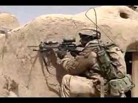 Canadian Army In Heavy Firefight In Afghanistan 1/3