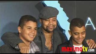 CUBA GOODING JR and Family at AVATAR Premiere Arrivals