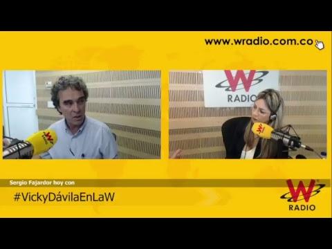 #VickyDávilaEnLaW entrevista a Sergio Fajardo, candidato a la Presidencia de Colombia (2018)