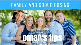 In this video we talk posing groups and families. if you'd like to support omar: omar's tip jar: https://www.paypal.me/omargonzalezphoto check out the stuff ...