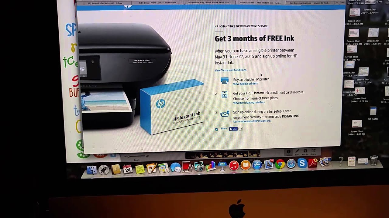 HP Instant Ink Program and How It Works #NeverRunOut