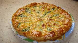 Пирог с фетой и шпинатом. Супер рецепт