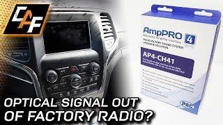 Optical Digital Output AND KEEP warning chimes, voice, nav - How to