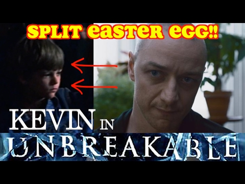 SPLIT Easter Egg - Kevin in Unbreakable!!
