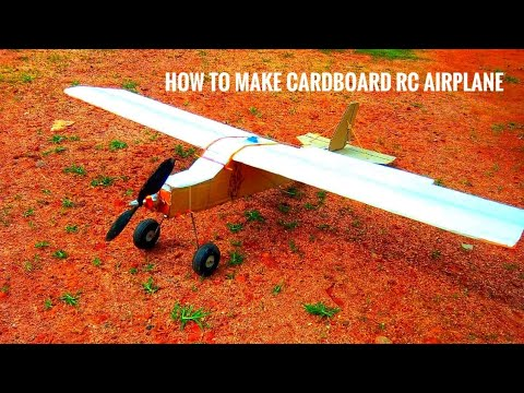 Download How to Make Rc Airplane | Cardboard Rc Plane | Remote Control Aircraft