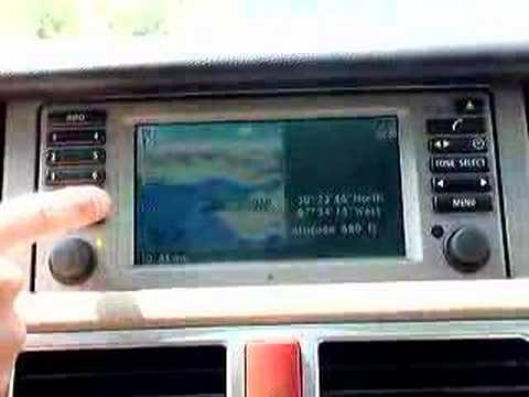 range rover with bmw mp3 cd changer youtube. Black Bedroom Furniture Sets. Home Design Ideas