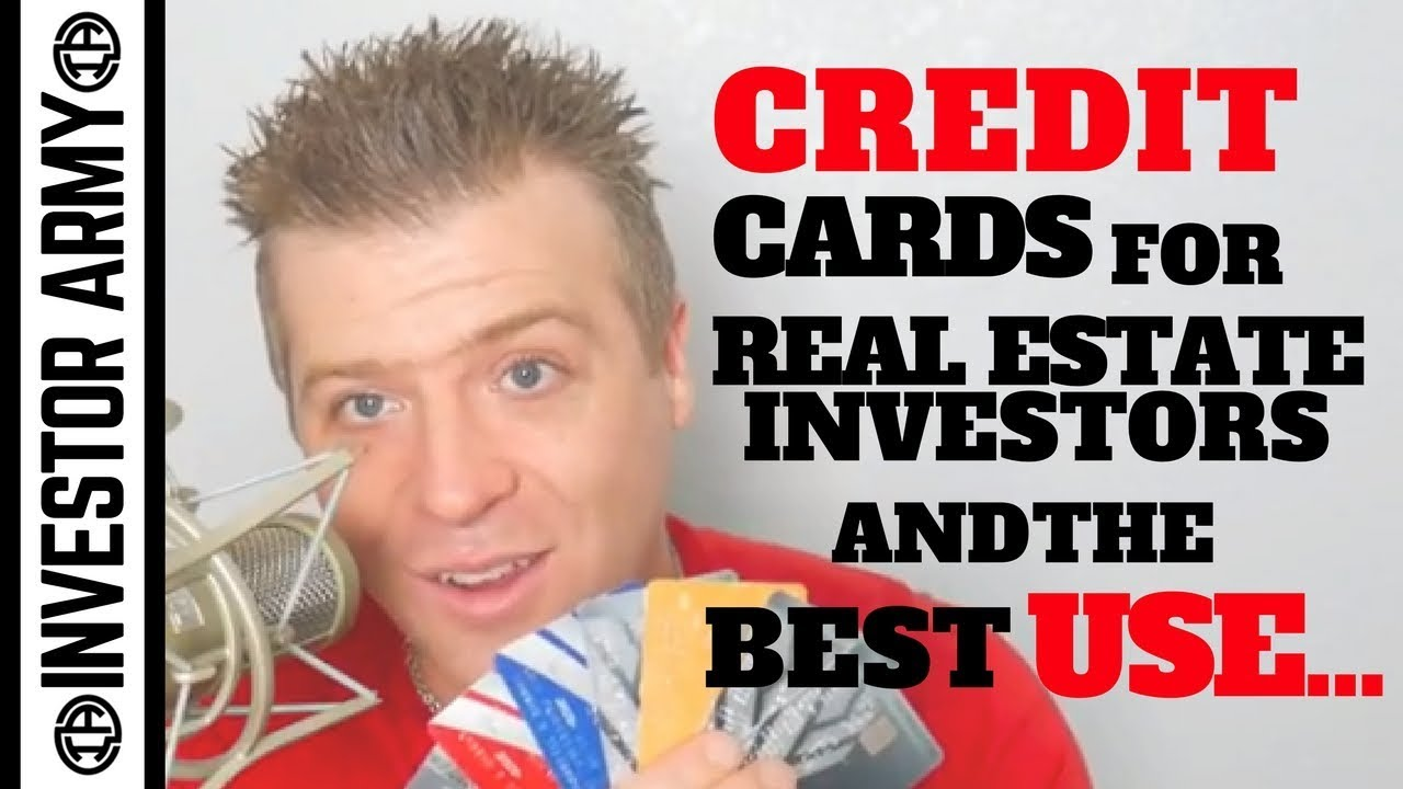 Credit cards for Real Estate Investors and the best use...