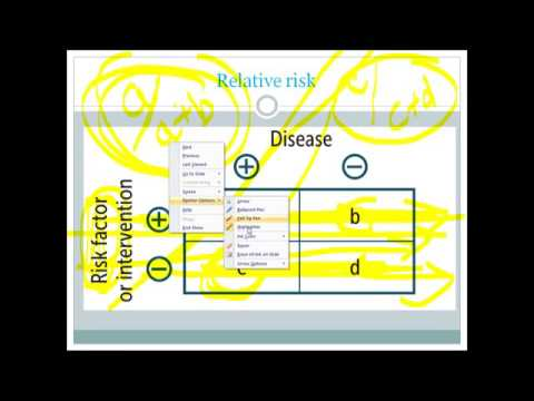 OR, RR, AR, ARP: Biostat for USMLE step 1