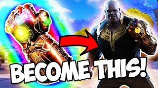 *NEW* HOW TO BECOME AN AVENGERS CHARACTER IN FORTNITE + VBUCKS GIVEAWAY!!! (Limited Time Mashup)