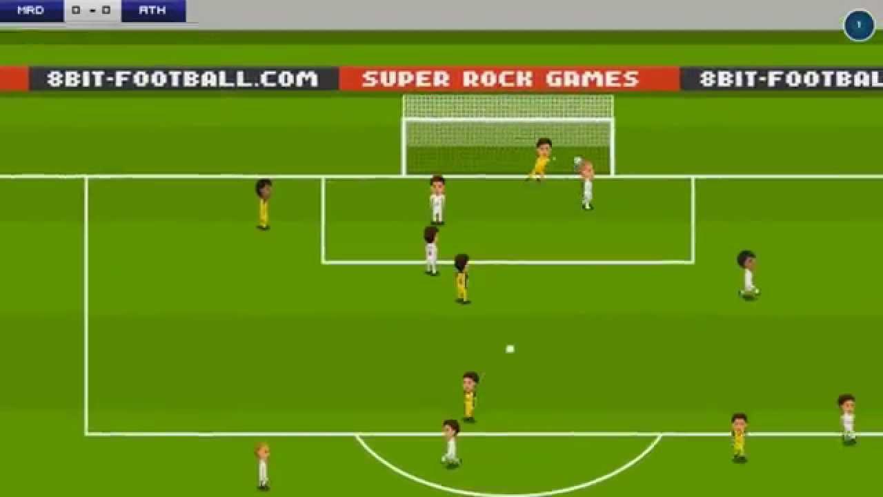 Pixel Soccer Du Football à Lancienne Sur Kickstarter Le
