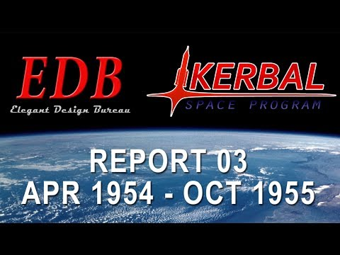 EDB Space Program 03 - April 1954 to October 1955
