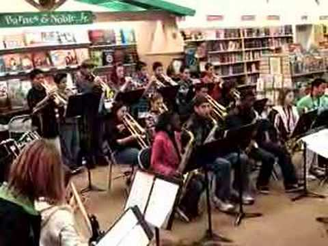 Dover Middle School jazz Band- Land Of Make Believe