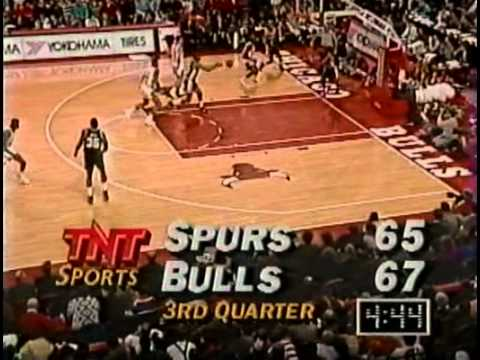 NBA Greatest Trios: Jordan, Pippen & Grant vs Spurs (1992)