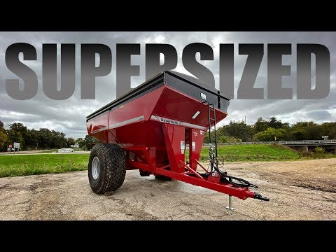 SUPERSIZED | Unverferth 1160 Grain Cart