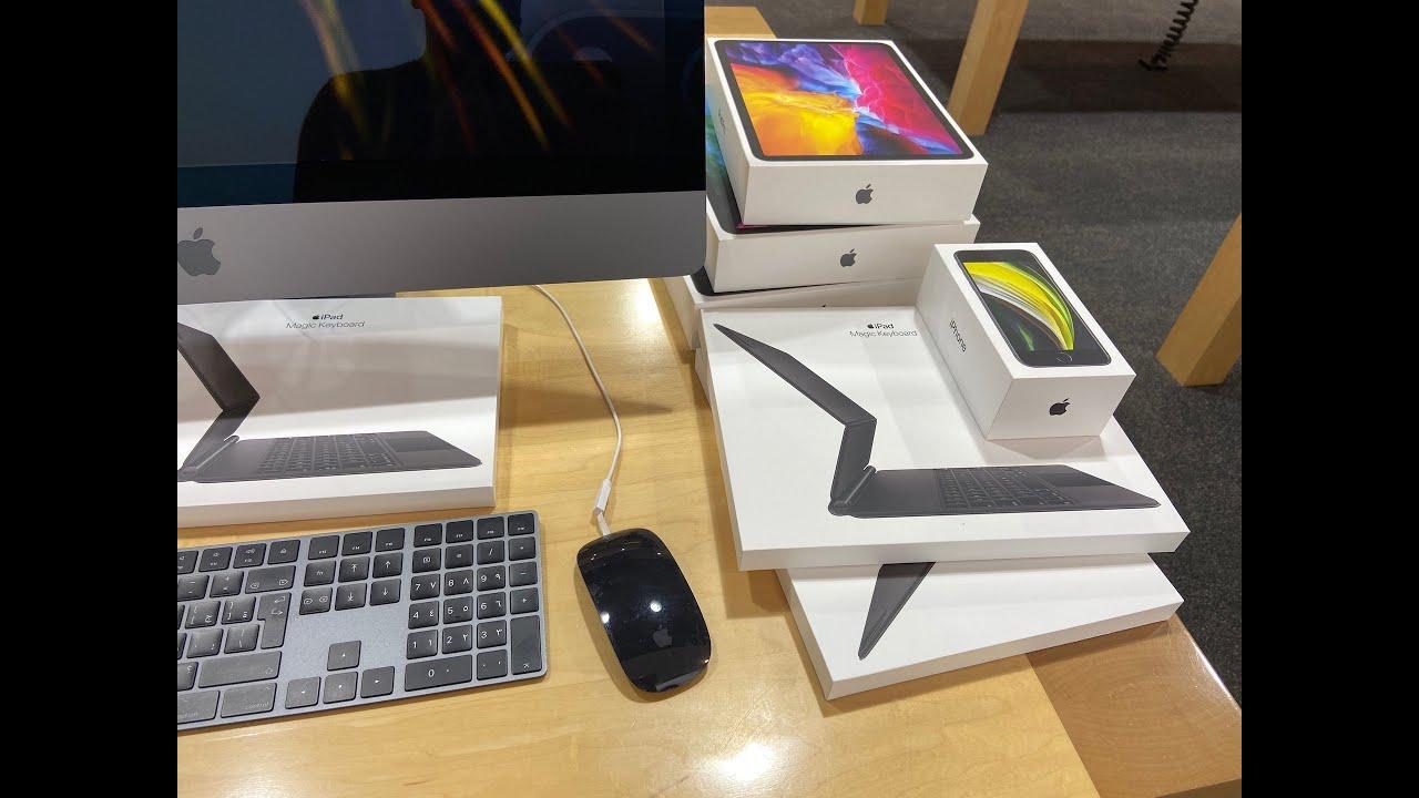 Apple iPad Pro 2020 11 and 12.9 Inch with Magic Keyboard ...