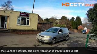 XC1080BP 1080P HD-IP Camera CCTV Footage Day and Night