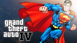 Superman Plays GTA 4