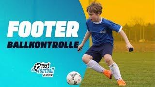 Fussballtraining: Footer - Ballkontrolle - Technik