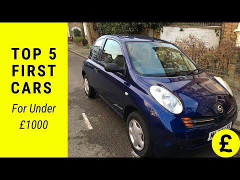 top-5-first-cars-for-under-£1,000-(2019)