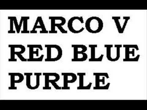 Marco V - Red Blue Purple