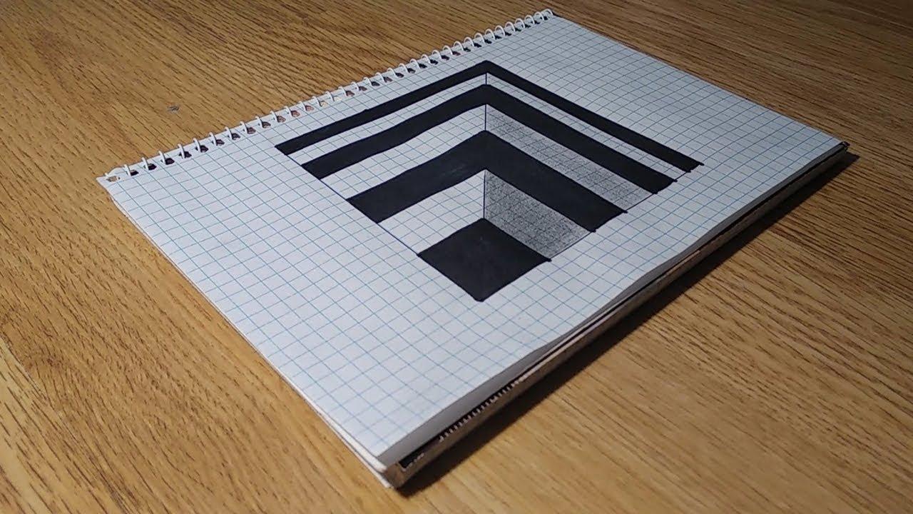 Анаморфные иллюзии как сделать фото 161