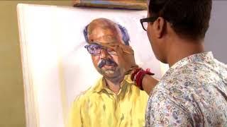 watercolour portraite demonstraition by famous artist anil naik sir
